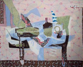 Interieur, interior, Öl auf Leinwand, oil on canvas, 160 cm x 140 cm, 2011
